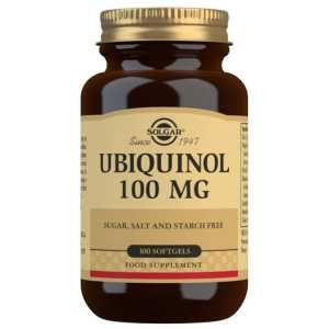 Ubiquinol 100 mg – Solgar – 50 perlas
