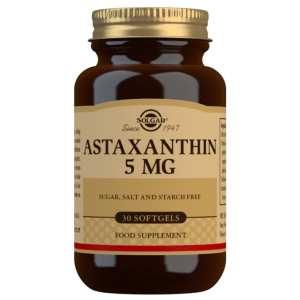 Astaxantina 5 mg – Solgar – 30 perlas