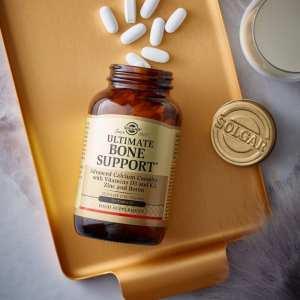 Ultimate Bone Support – Solgar – 120 comprimidos