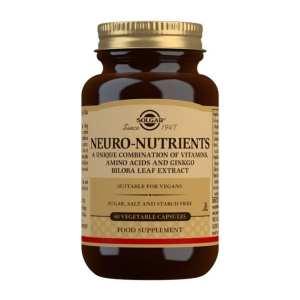 Neuro Nutrientes – Solgar – 60 cápsulas