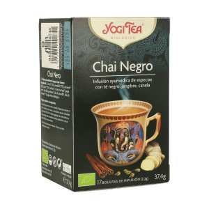 Chai Negro – Yogi Tea – 17 filtros