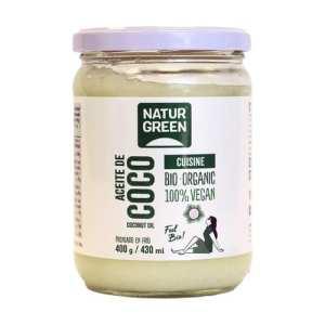 Aceite de Coco Cuisine Bio – NaturGreen – 430 ml / 400 gr