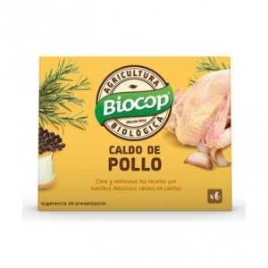 Caldo cubitos Pollo – Biocop – 6 unidades x 11 gr