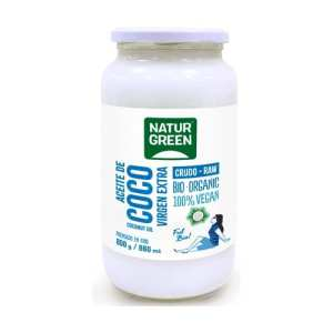 Aceite de Coco Virgen Bio – NaturGreen – 860 ml / 800 gr