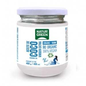 Aceite de Coco Virgen Bio – NaturGreen – 430 ml / 400 gr