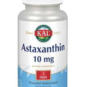 Astaxanthin 5 mg – KAL – 60 comprimidos