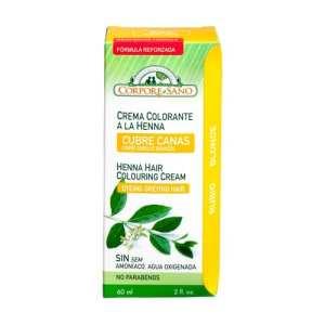 Crema Colorante Henna Rubio – Corpore Sano – 60 ml