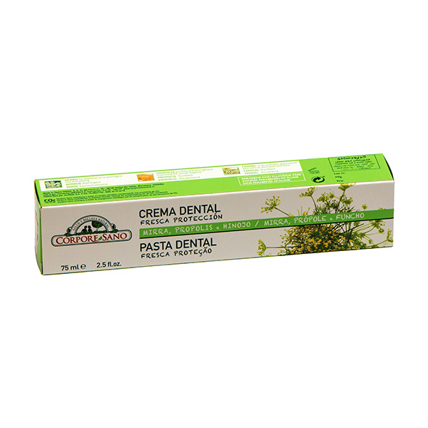 Crema dental natural con Propoleo