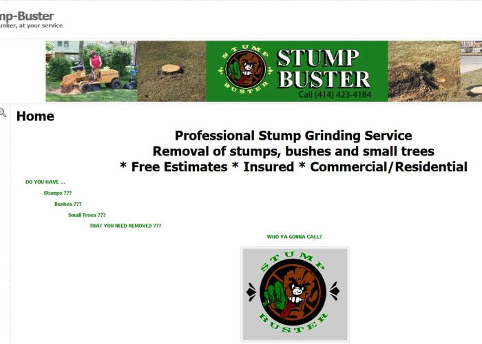 image of Stump Buster