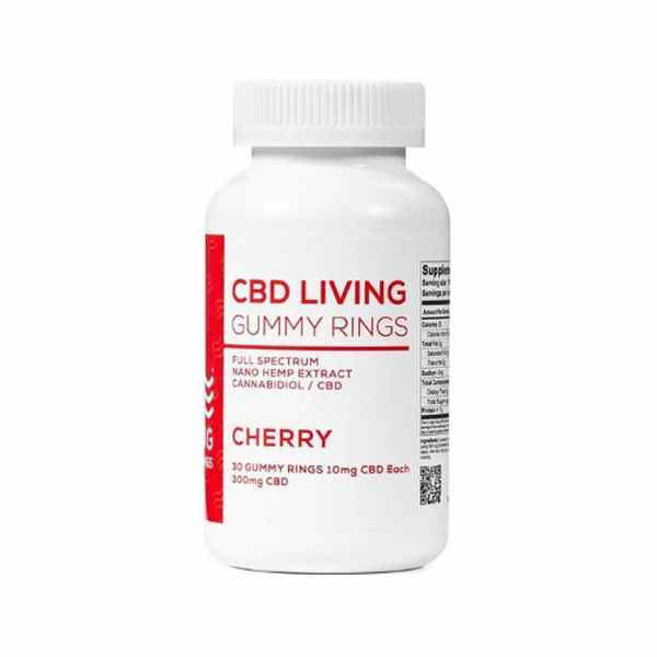CBD Living Cherry Rings 30ct