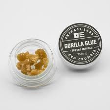 G-rilla Glue Crumble