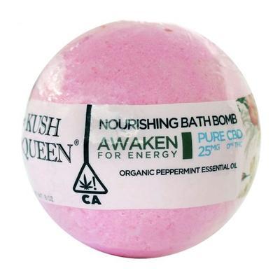 kush queen awaken bath bomb