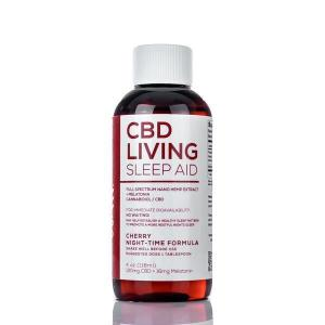 CBD Living Sleep Syrup Cherry