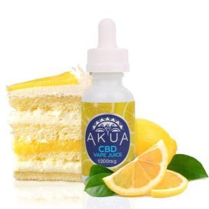 AKUA Lemon Cake
