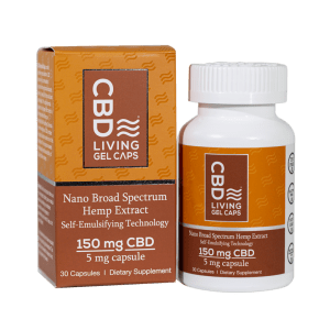 CBD Living Gel Caps 150 mg
