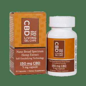 CBD Living Gel Caps 150 mg