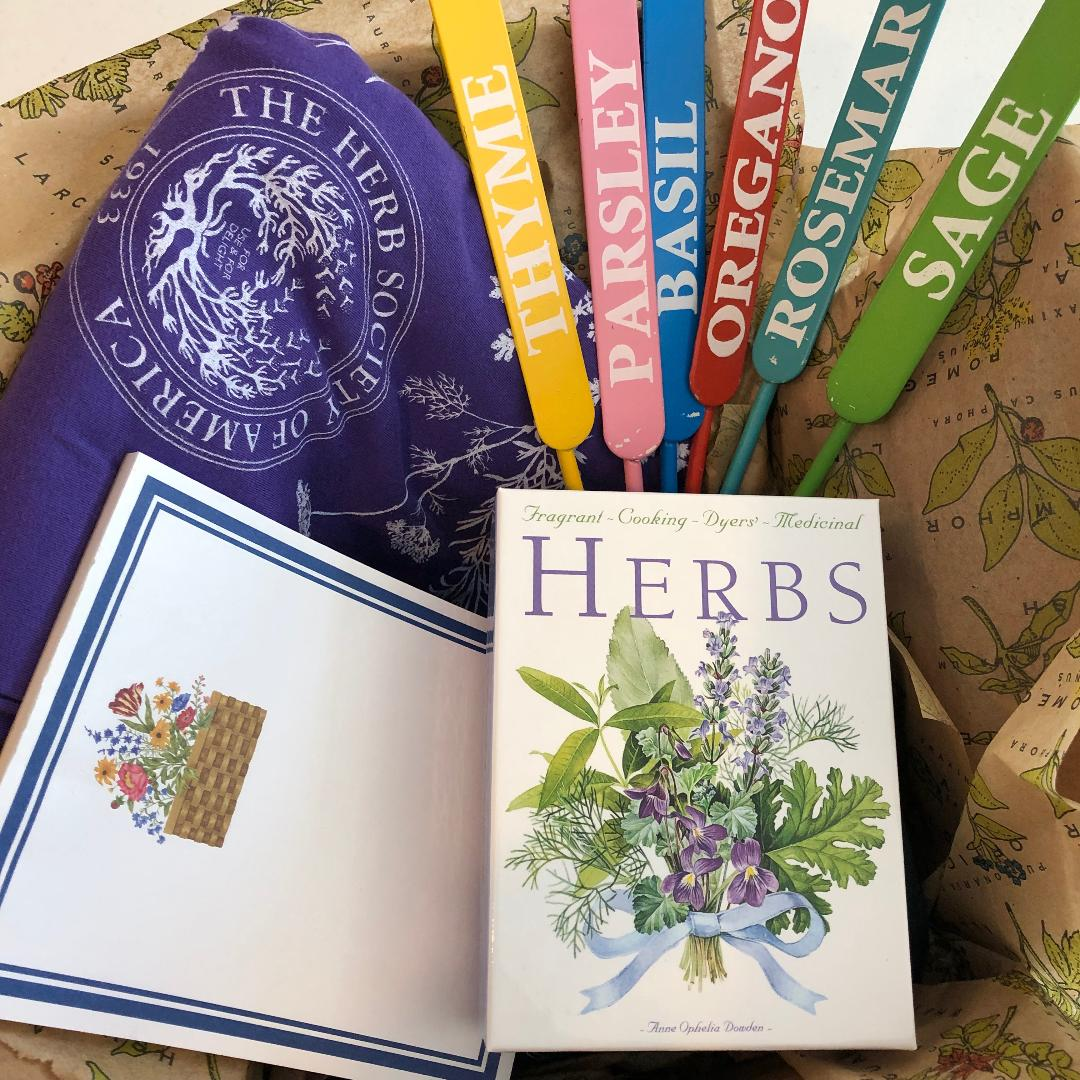 Holiday Herbs Word Scramble The Herb Society Of America Blog