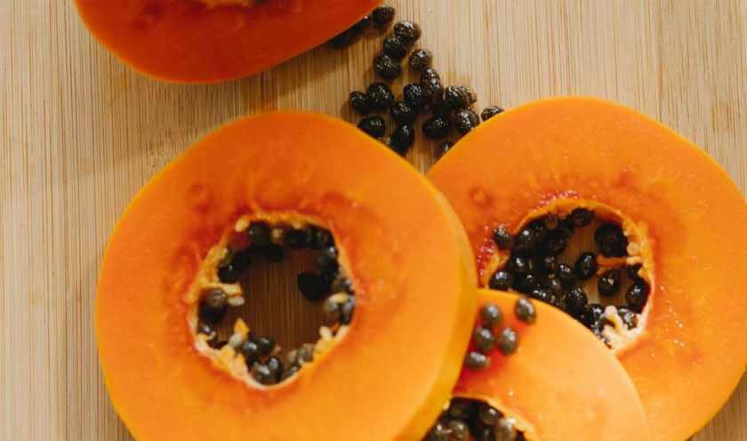 papaya calories
