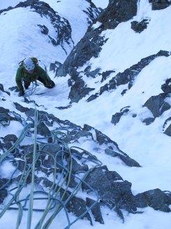 Genüssliche Kletterei