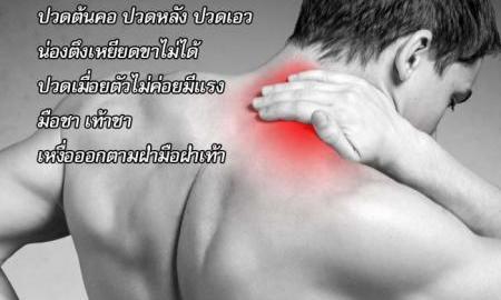 ยากษัยเส้น ลดการปวดเส้น คลายกล้ามเนื้อ