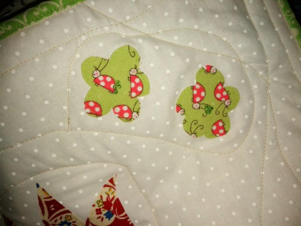 Mini quilts.  (6/6)