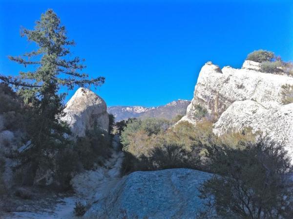 Piedra Blanca trail horizontal