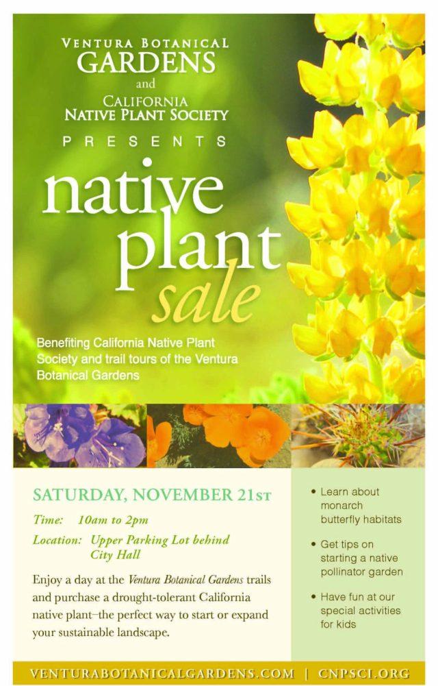 CNPS plant sale 11-21-2015