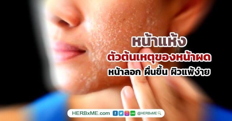 หน้าแห้ง สาเหตุ Dry Skin Face