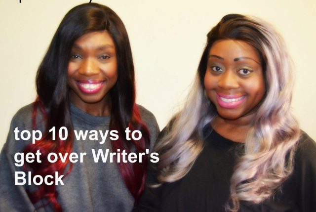 how to avoid writers block, how to be a better writer, hercastlegirls