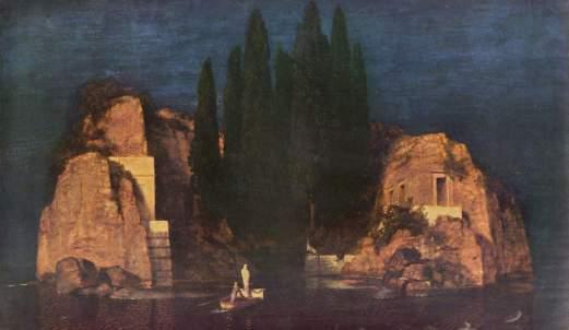 Boklinova slika Ostrvo mrtvih