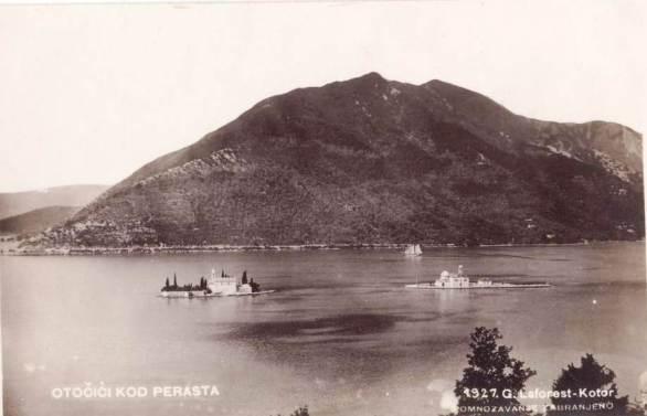 Laforestova razglednica peraskih otoka iz dvadesetih