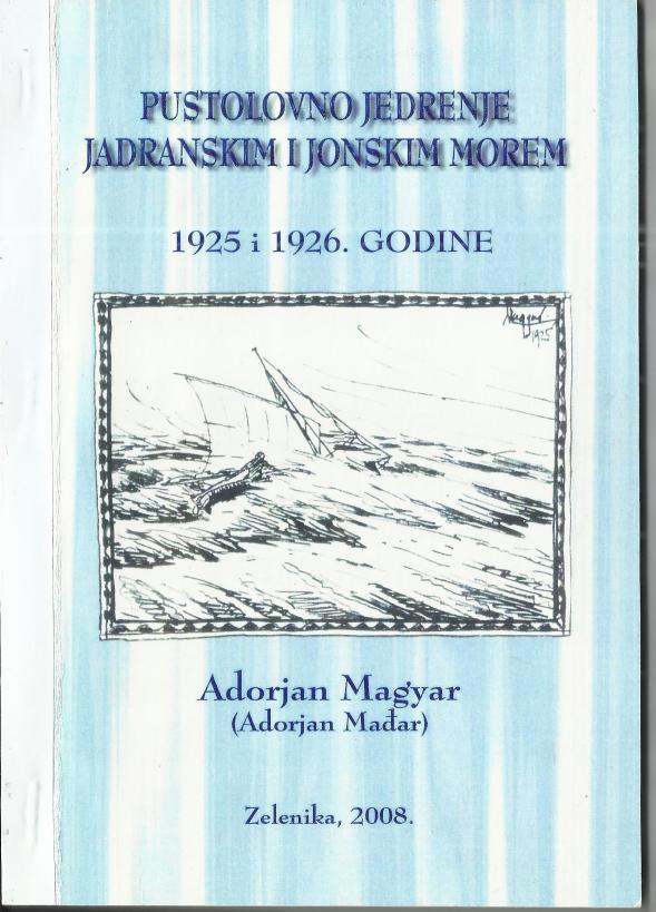 naslovnica knjižice o Adorjanovom putovanju