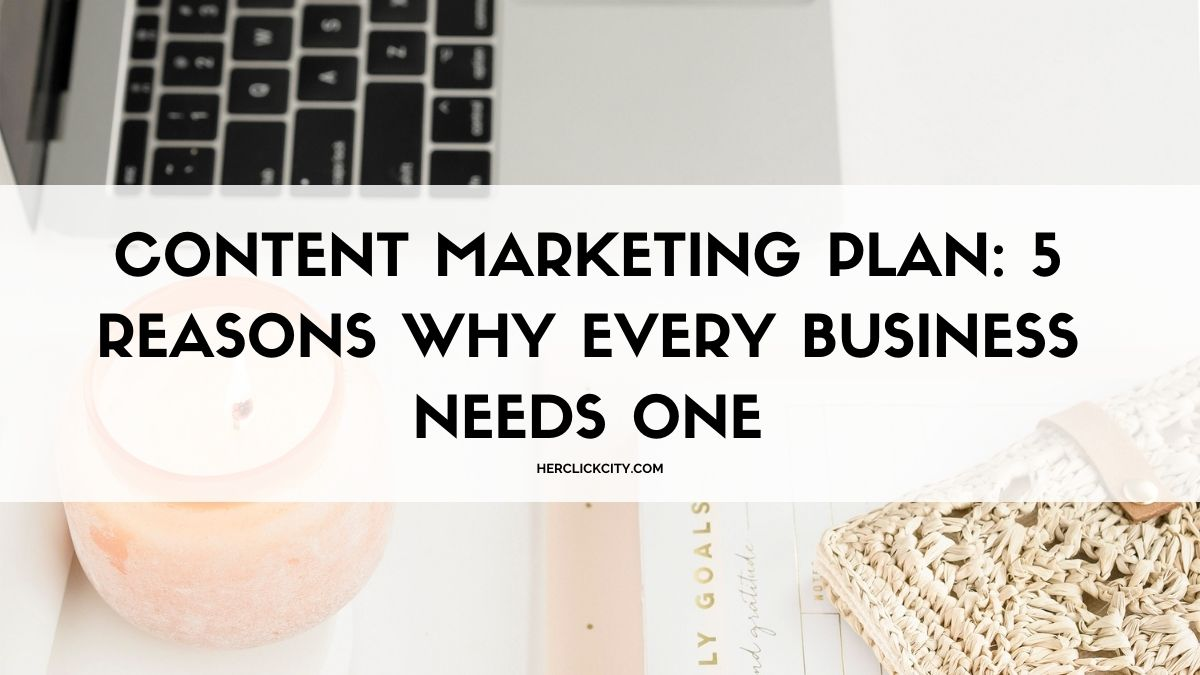 blog post header for content marketing plan article