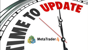 MT4 Terminal Update required due to the cease of support on older