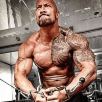 The Rock Chest Workout