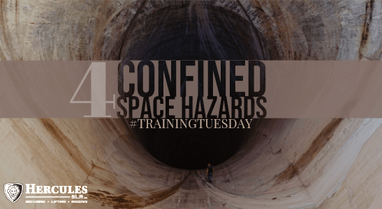 man entering confined space