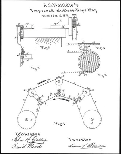 Endless Wire Rope Patent