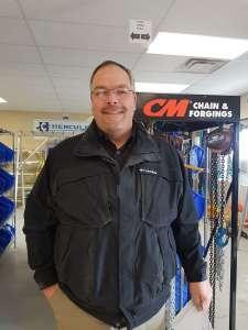 Steve norcross, territory sales manager at hercules slr