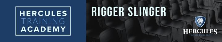 rigger slinger training course
