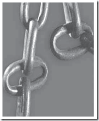 collapsed chain link example