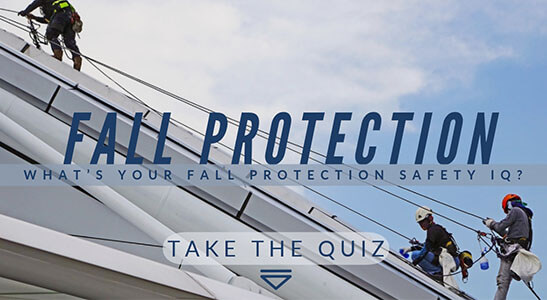 fall protection safety quiz hercules securing, lifting and rigging