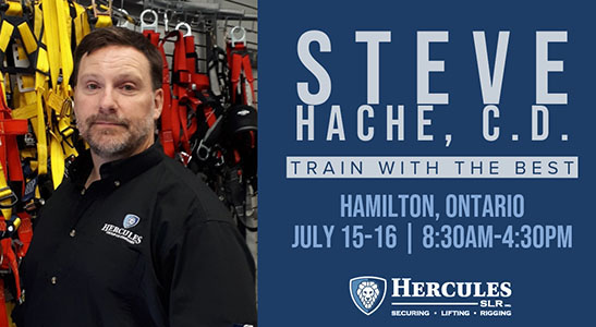 hercuels slr rigging trainer steve hache