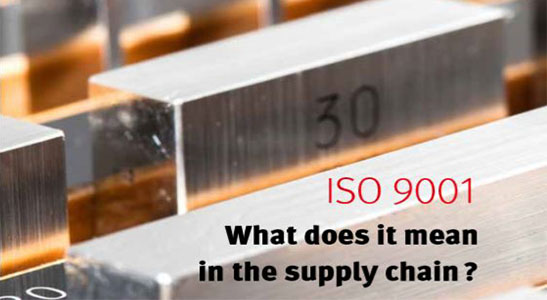 supply chain and iso 9001 at hercules slr