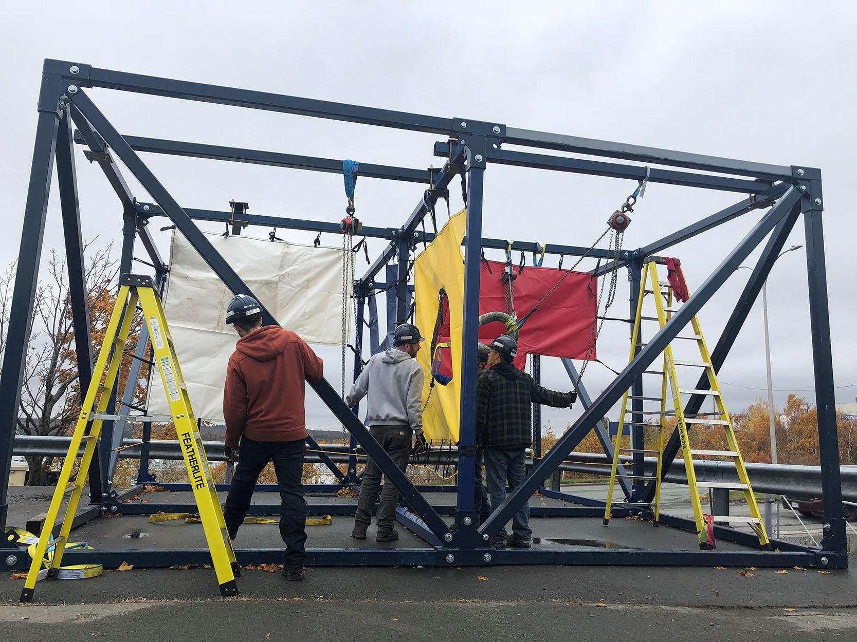 hercules training academy outdoor rigging