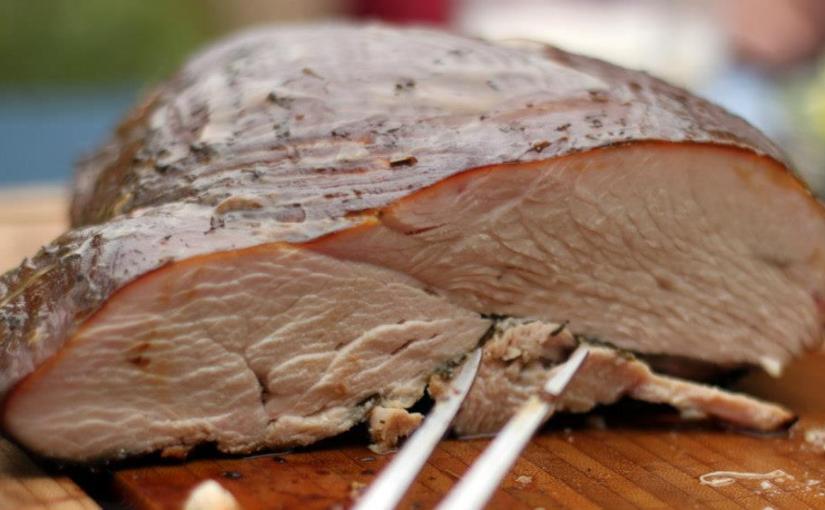 Smoked Turkey – heiß geräucherte Putenbrust