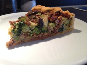 Brokkoli-Hack-Quiche
