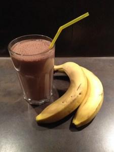 Bananen-Schoko-Milchshake