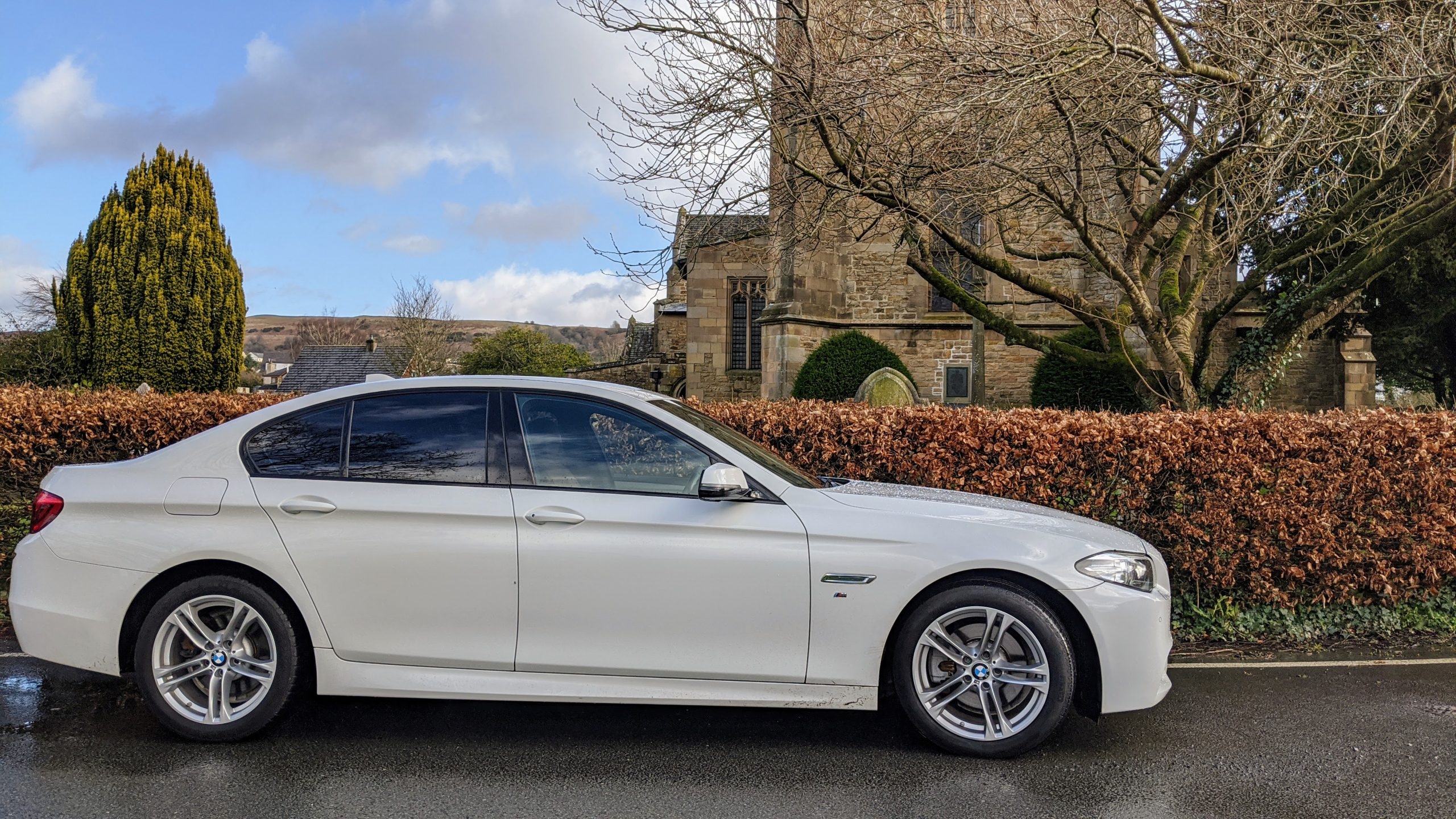 Wedding Car Hire Lake District BMW White