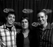 Michael Seifert and Eric Wilson with Rob Thomas