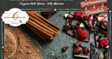 Chocolate é rei em Grândola de 4 a 12 de Novembro